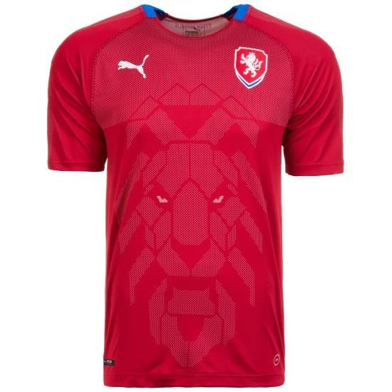 Puma Tschechien Trikot Heim 2018/2019