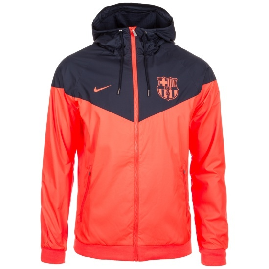 Nike FC Barcelona Jacke Windrunner Orange