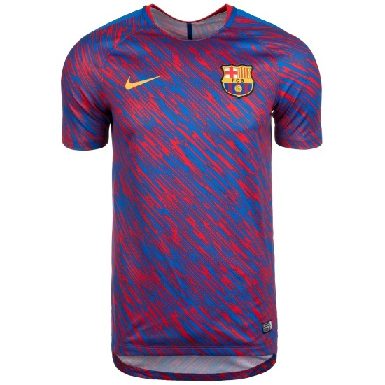 Nike FC Barcelona Pre Match Shirt Team Blau