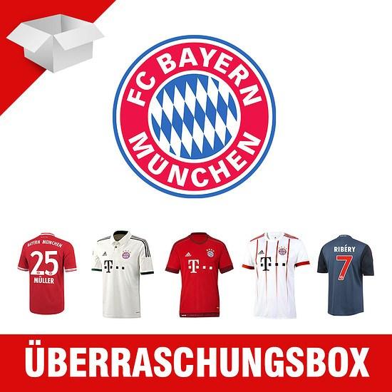 Adidas FC Bayern München Trikot-Überraschungspaket Kinder 5er