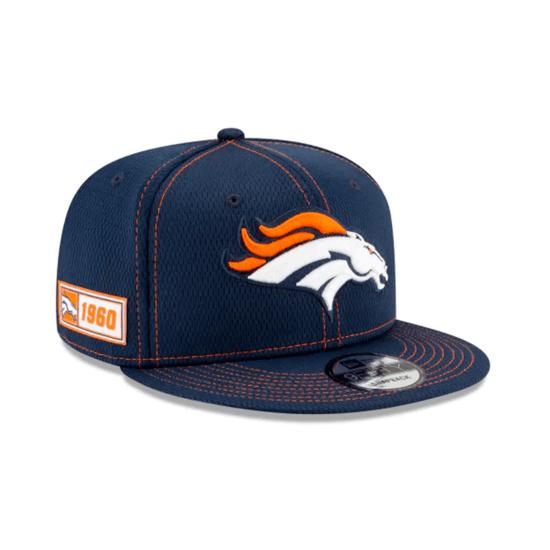 New Era Denver Broncos Cap On Field 9FIFTY orange