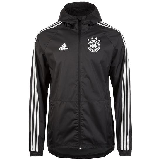 Adidas Deutschland Regenjacke DFB Schwarz
