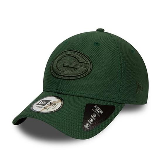 New Era Green Bay Packers Cap Mono Team 9FORTY grün