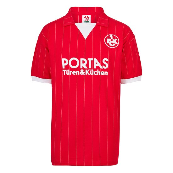 Scoredraw 1. FC Kaiserslautern Retro Trikot 1983/84
