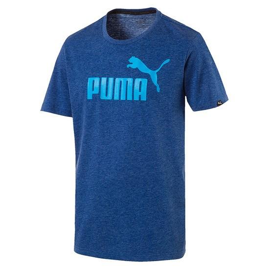 Puma T-Shirt ESS No. 1 Blau