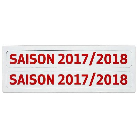 Update-Set Saisonschild für Magnettabelle 2017/2018