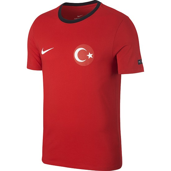 Nike Türkei T-Shirt Football Rot