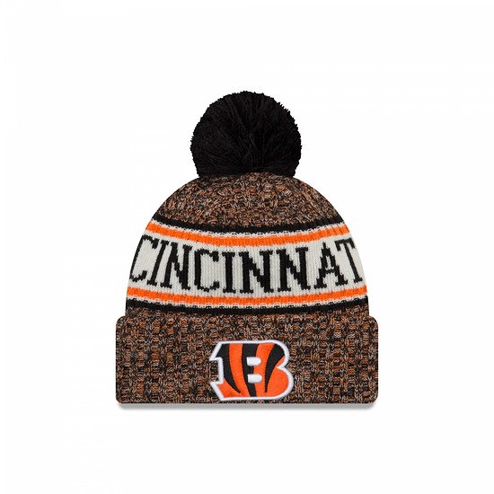 New Era Cincinnati Bengals Bommelmütze Sport orange