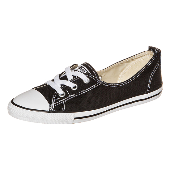 CONVERSE Sneaker Chuck Taylor All Star Ballet Lace Damen schwarz/weiß
