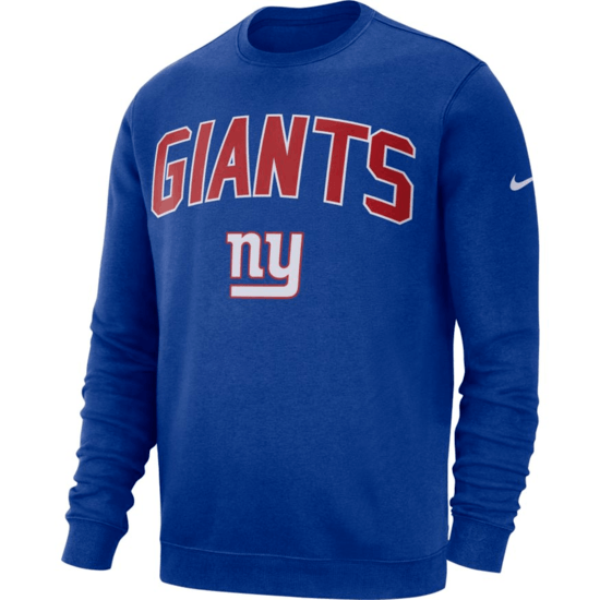 Nike New York Giants Sweatshirt NK 2019/2020 Blau