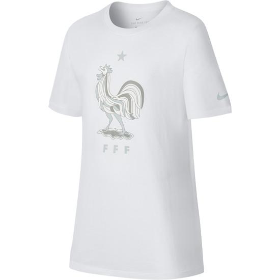 Nike Frankreich T-Shirt Football Kinder Weiß