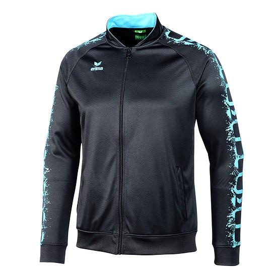 Erima Trainingsjacke GRAFFIC 5-C schwarz/blau