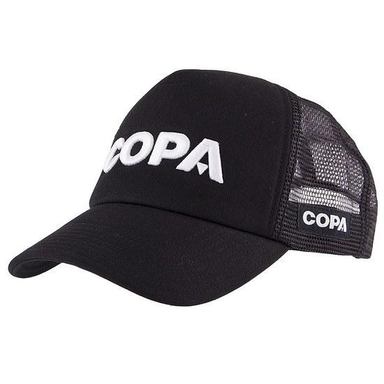 Copa Cap 3D Logo Trucker weiß/schwarz