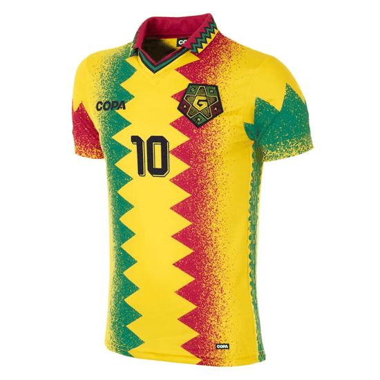 Copa Fußballshirt Ghana gelb