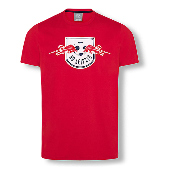 RB Leipzig T-Shirt Essential 4C rot