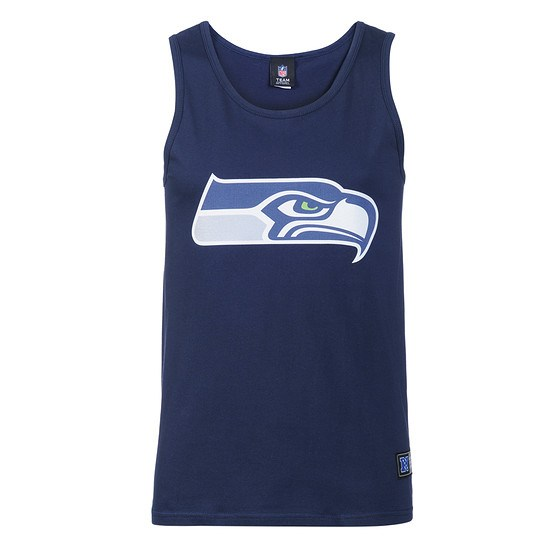 Majestic Athletic Seattle Seahawks Tanktop Logo blau