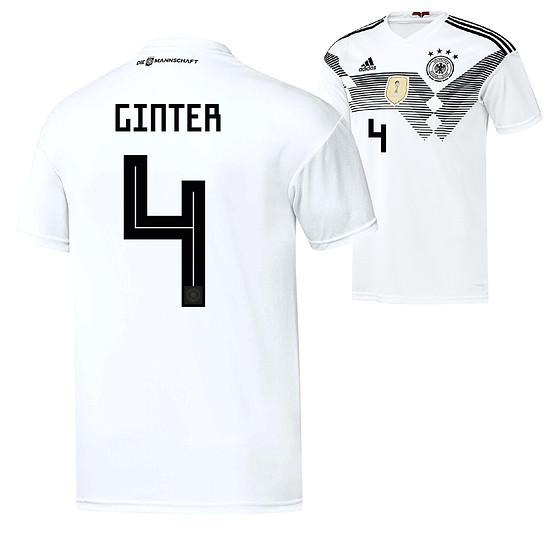 Adidas Deutschland WM 2018 DFB Trikot Heim GINTER