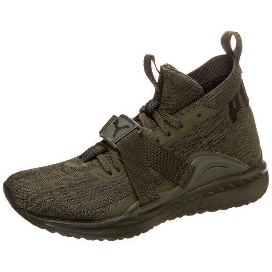 Puma Sneaker Ignite evoKNIT 2 oliv