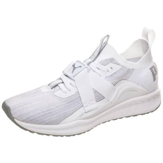 Puma Sneaker Ignite evoKNIT Lo 2 weiß/grau