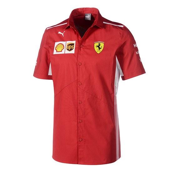 Ferrari Hemd Team rot