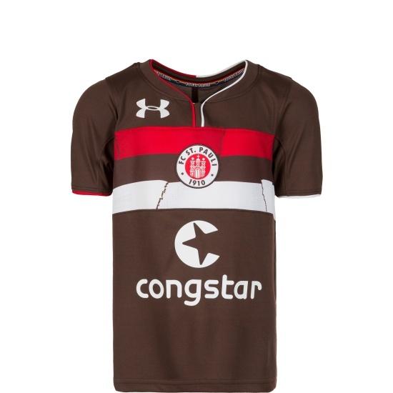 Under Armour FC St. Pauli Trikot 2018/2019 Kinder Heim