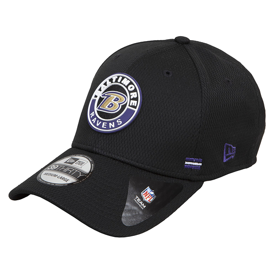 New Era Baltimore Ravens Cap Road 39THIRTY Sideline 2020 schwarz