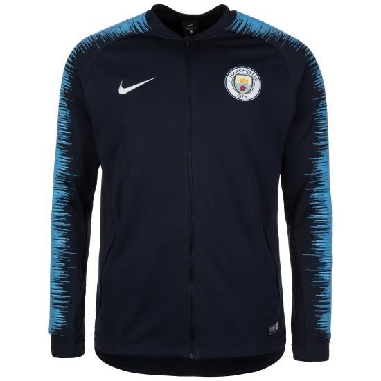 Nike Manchester City Trainingsjacke Logo Blau