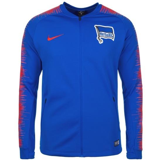 Nike Hertha BSC Trainingsjacke Raglan Blau