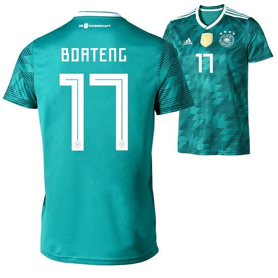 Adidas Deutschland WM 2018 DFB Trikot Auswärts BOATENG