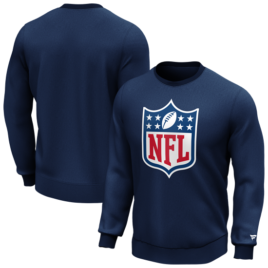 Fanatics NFL Shield Sweatshirt Logo Graphic navy