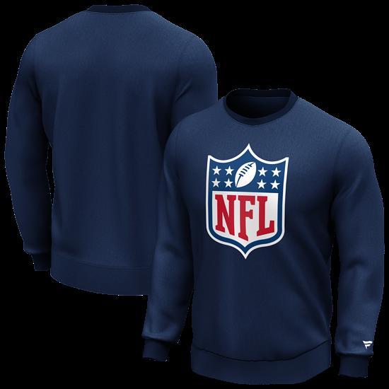 Fanatics NFL Shield Sweatshirt Logo Graphic navy