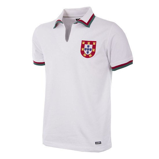 Copa Portugal 1972 Away Short Sleeve Retro Shirt