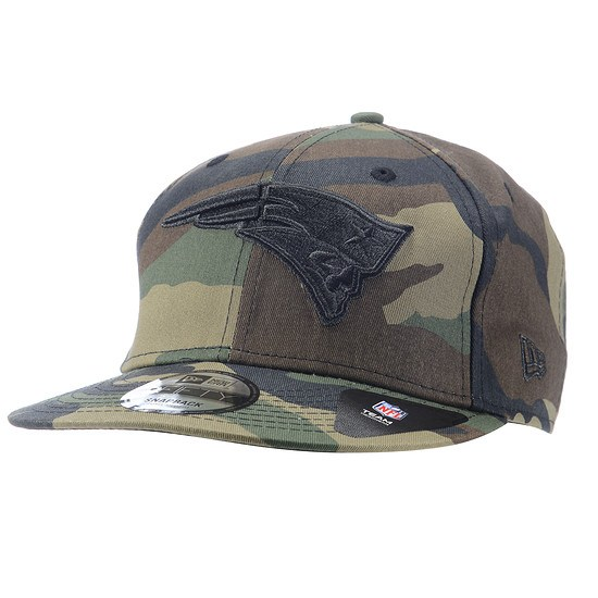 New Era New England Patriots Cap Camo 9FIFTY camouflage