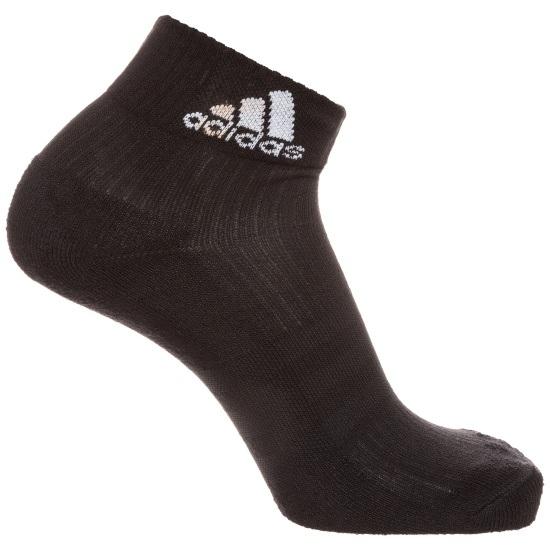 Adidas Socken Logo 3er-Pack schwarz
