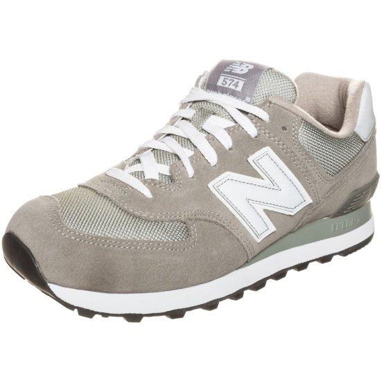 New Balance Sneaker M574-GS-D grau/weiß