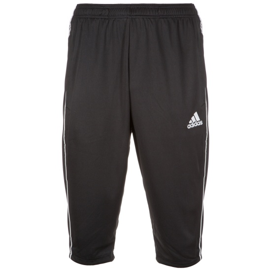Adidas Trainingshose 3/4 lang Core 18 Schwarz