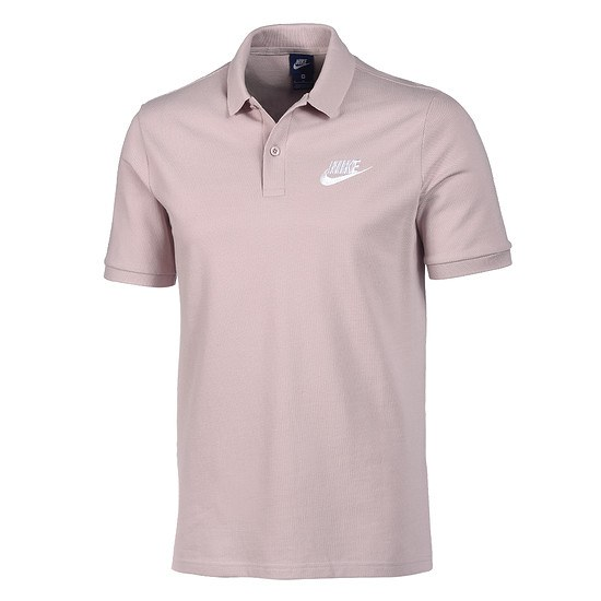 Nike Poloshirt Sportswear Basic Rosé/Grau