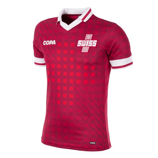 Copa Fußballshirt Schweiz rot