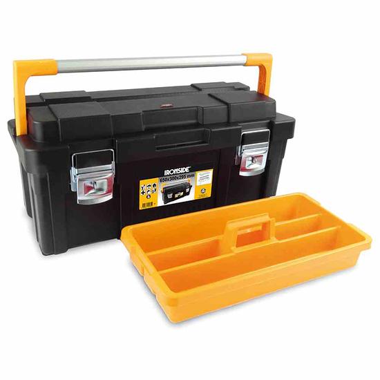 Ironside Werkzeugkasten Pro plus schwarz