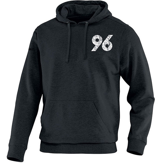 Jako Hannover 96 Kapuzensweat schwarz