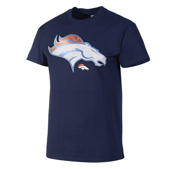 Majestic Athletic Denver Broncos NFL T-Shirt Line to Gain schwarz