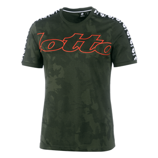 Lotto T-Shirt Athletica III PRT green resin