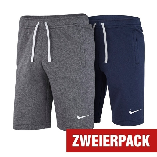 Nike Shorts CLUB 19 Set 2er Pack Blau/Dunkelgrau