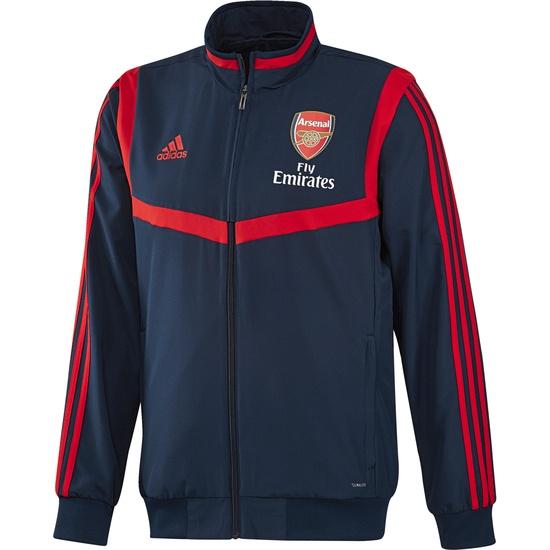 Adidas FC Arsenal Präsentationsjacke Team dunkelblau/rot