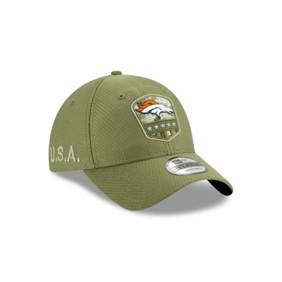 New Era Denver Broncos Cap Salute To Service 9TWENTY oliv
