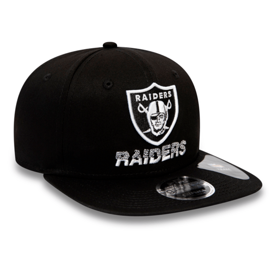 New Era Las Vegas Raiders Cap Tech Team 9FIFTY schwarz