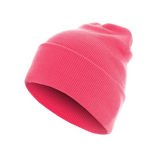 MasterDis Beanie Basic Flap Long neopink