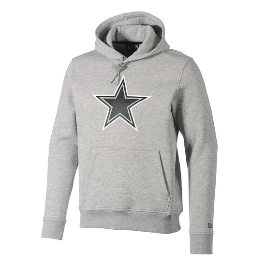 New Era Dallas Cowboys Hoodie Fan Pack grau