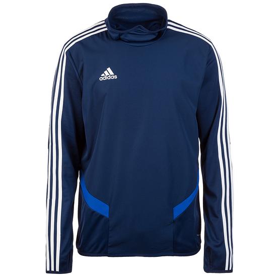 Adidas Trainingsshirt Langarm Warm Tiro 19 Blau