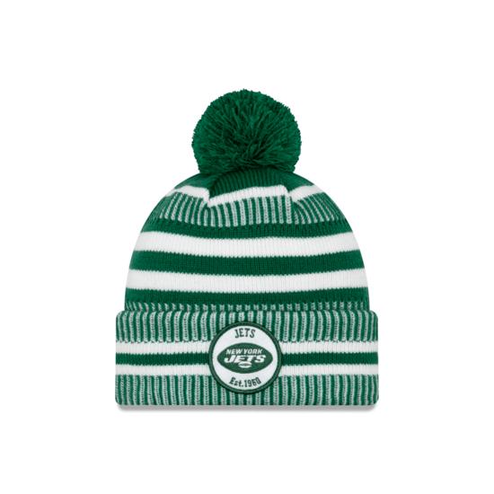 New Era New York Jets Beanie On Field Sport Knit HM grün